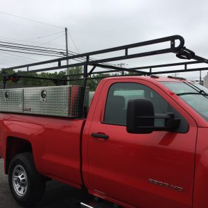 Ladder Rack with Toolbox